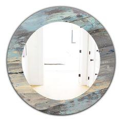 Beach Mirror, Nautical Mirror, Round Wall Mirror, Mirror Mirror, Beach Condo Decor, Beach Cottage Decor, Coastal Decor, Coastal Mirrors, Condo Decorating