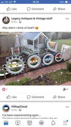 Reuse Old Tires, Outdoor Learning, Forest School, Recycling, Antiques, Vintage, Garden, Garten, Antiquities