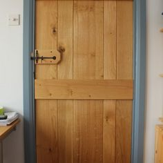 Oak internal door - Woodprojects.co.uk