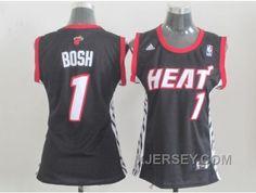 http://www.xjersey.com/hot-women-nba-miami-heat-1-bosh-black.html HOT WOMEN NBA MIAMI HEAT #1 BOSH BLACK Only 32.17€ , Free Shipping!