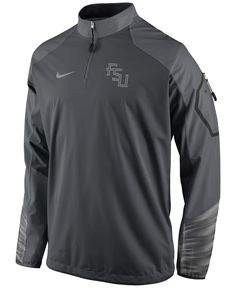 timeless design 971e8 6dfbf Nike Men s Florida State Seminoles Fly Rush Quarter-Zip Pullover   Reviews  - Sports Fan Shop By Lids - Men - Macy s
