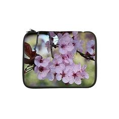 """Cherry blossoms in spring time 13"""" Laptop Sleeve on CafePress.com"""