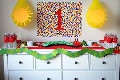 Parties By Kaci: [$25 DIY PARTY] Hungry Caterpillar Party