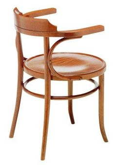 Michael Thonet Designed B165 Open Back Bentwood Arm Chair