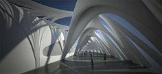 some conceptual interior parametric designs
