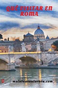 Todo lo que puedes visitar en el centro histórico, Vaticano, fuentes y plazas. #italia #roma #travel #viajes #travelblog #blogger #tips Instagram: @maletaaventurera Twitter: @maletaaventure