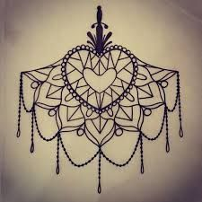 Image result for lotus mandala underboob tattoo