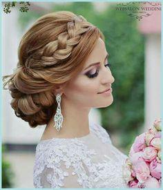 Best Ideas For Wedding Hairstyles : Featured Hairstyle: Websalon Wedding – Anna Komarova; Long Hair Wedding Styles, Hair Comb Wedding, Wedding Hair And Makeup, Bridal Hair, Long Hair Styles, Wedding Hairstyles For Long Hair, Fancy Hairstyles, Bride Hairstyles, Hairstyle Wedding