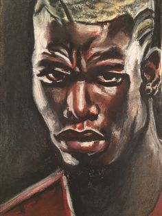 Portrait I did of Paul Pogba