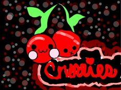 Cute Cherries | Cute Cherries! by paintpink99 | Create Art | Disney