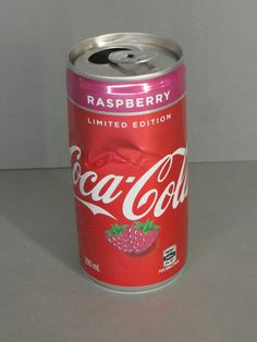 Coca Cola Can, Coke, Energy Drinks, Raspberry, Stickers, Canning, Bottle, Vintage, Collection