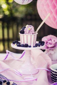 Eissause mit Diamant Eiszauber Heidelbeer Joghurt Eis