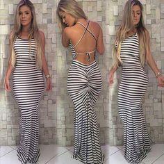 fa540b07ba8 Dámské dlouhé šaty – L Na tento produkt se vztahuje nejen zajímavá sleva