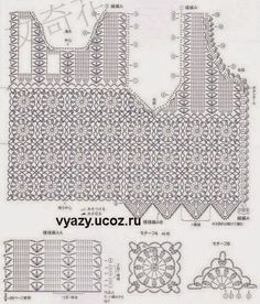 Free crochet charts and explanation for vintage timeless vest crochet patterns free crochet charts and explanation for vintage timeless vest ccuart Gallery