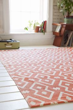 Magical Thinking Salta Geo Printed Rug urban outfitters on sale $90 for 8x10