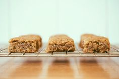 Try these 7 tasty recipes for protein-packed, antioxidant-rich energy bars.