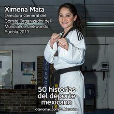 Directora General del Comité Organizador del Mundial de taekwondo Puebla 2013.