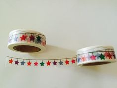 Star Banner Washi Tape by GoatGirlMH on Etsy