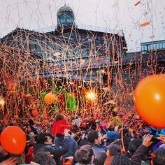 La Taronjada / Carnaval in Barcelona