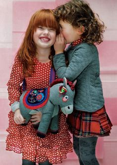 Oilily has the cutest clothes for kids!  And look at that little ginger girl, MY GOODNESS SHE IS PRECIOUS. <3