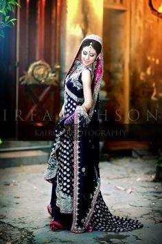 Pakistani Bridal Photography by Irfan Ahson