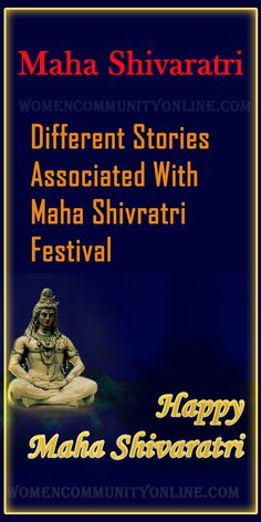 Maha Shivratri is believed to be the day Lord Shiva married Goddess Parvati. In this post, I will share with you different stories associated with Maha Shivratri. #mahashivaratri #india #mahadev #devoted #mahashivratri #shiva #lordshiva #mahadeva #mahakaal #culture #mahakal #incredibleindia #spiritual #shivaratri #shiv #stories Happy Maha Shivaratri, Online Blog, Lord Shiva, Different, Believe, Spirituality, Parenting, Community, India