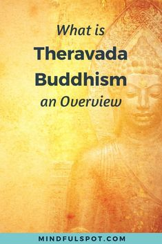 Learning about Theravada will give you a solid foundation for exploring other Buddhist schools if you're new to Buddhism. Click through to read the post. Buddhism for beginners - #MindfulSpot #Buddhism #Buddha #spirituality #meditation #mindfulness Mindfulness At Work, Mindfulness Books, Benefits Of Mindfulness, Mindfulness Exercises, Mindfulness Activities, Meditation Benefits, Buddhism For Beginners, Mindfulness For Beginners, Mindfulness Techniques