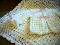 CROCHET BABY GIRLS LAYETTE