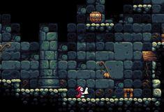 Game Design, Game Level Design, Pixel Art Background, Game Background, 2d Game Art, 2d Art, Cool Pixel Art, Dots Game, Ninja Art