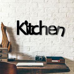 Decoratieletters Acrylglas Kitchen - wall-art.nl