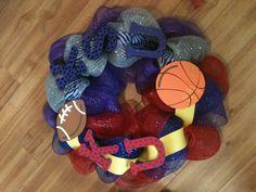 KSU/KU wreath