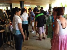 The crowd at Le Meridien Bali Jimbaran booth