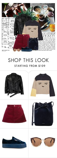 """""""Ciao adios, I'm done !"""" by euafyl ❤ liked on Polyvore featuring VIPARO, AlexaChung, Marc Jacobs, Mansur Gavriel, Superga, Marni and Rebecca de Ravenel"""