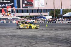 Rally racing at 2012 SEMA