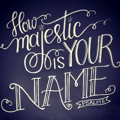 There is no other name… #JESUS by andrearhowey, via Flickr
