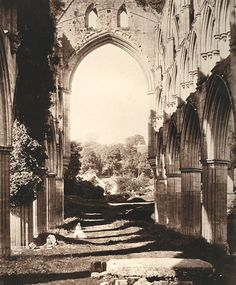 Roger Fenton - Rievaulx Abbey, 1854