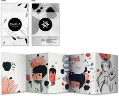 Malota Sketchbook Limited Edition by Mar Hernandez, via Behance