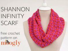Free Infinity Scarf and Cowl Crochet Patterns FiberArtsy.com