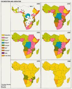 Colonización y descolonización de África