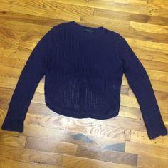 LF brand new sweater Never worn in perfect condition dark purple LF Sweaters