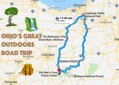 Take This Epic Road Trip To Experience Ohio's Great Outdoors