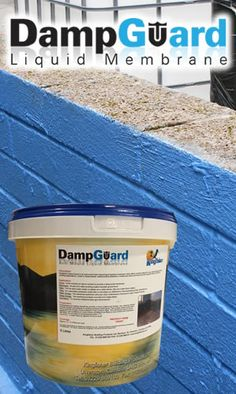 This amazing damp proof paint is a little known trade secret which can be applied to concrete, brick, renders & more to protect against water ingress by forming a damp guard liquid membrane.