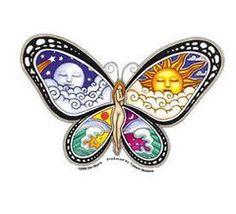 Dan Morris Butterfly Nymph Sticker