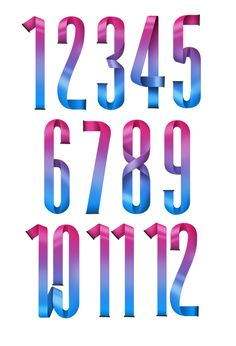Typeverything.com #FAMECHANGERS numerals by Luke Lucas.