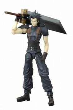 Got it: Final Fantasy VII Crisis Core Play Arts Zack Fair Action Figure