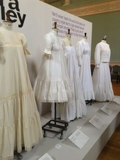 Yesterday, I had a lovely daytrip to Bath with my daughter with the main feature of our packed day being a visit to Bath Fashion Museum t. Laura Ashley Wedding Dress, Laura Ashley Vintage Dress, Edwardian Fashion, Vintage Fashion, Classic Fashion, Laura Ashley Clothing, Vintage Dresses, Vintage Outfits, Vintage Clothing