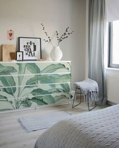 """Best Pics decoration sticker Ikea Malm drawer Banana Tree Popular A """"theme"""" works through the Sites and pages of the system earth: Ikea Hacks."""