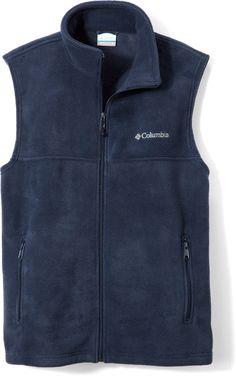 Columbia Male Flattop Mountain Fleece Vest - Men's