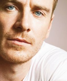 Michael Fassbender and those eyes.....<3