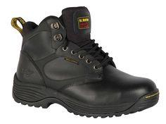 Dr Martens KEADBY Safety Shoes Black Steel Toe Caps /& Midsole Mens /& Womens Work